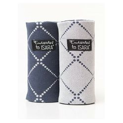ISARA TEETHING PADS - DIAMONDA BLUE INK