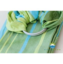 LITTLE FROG SLING - BAMBOO TURQUOISE - M (2.0m)